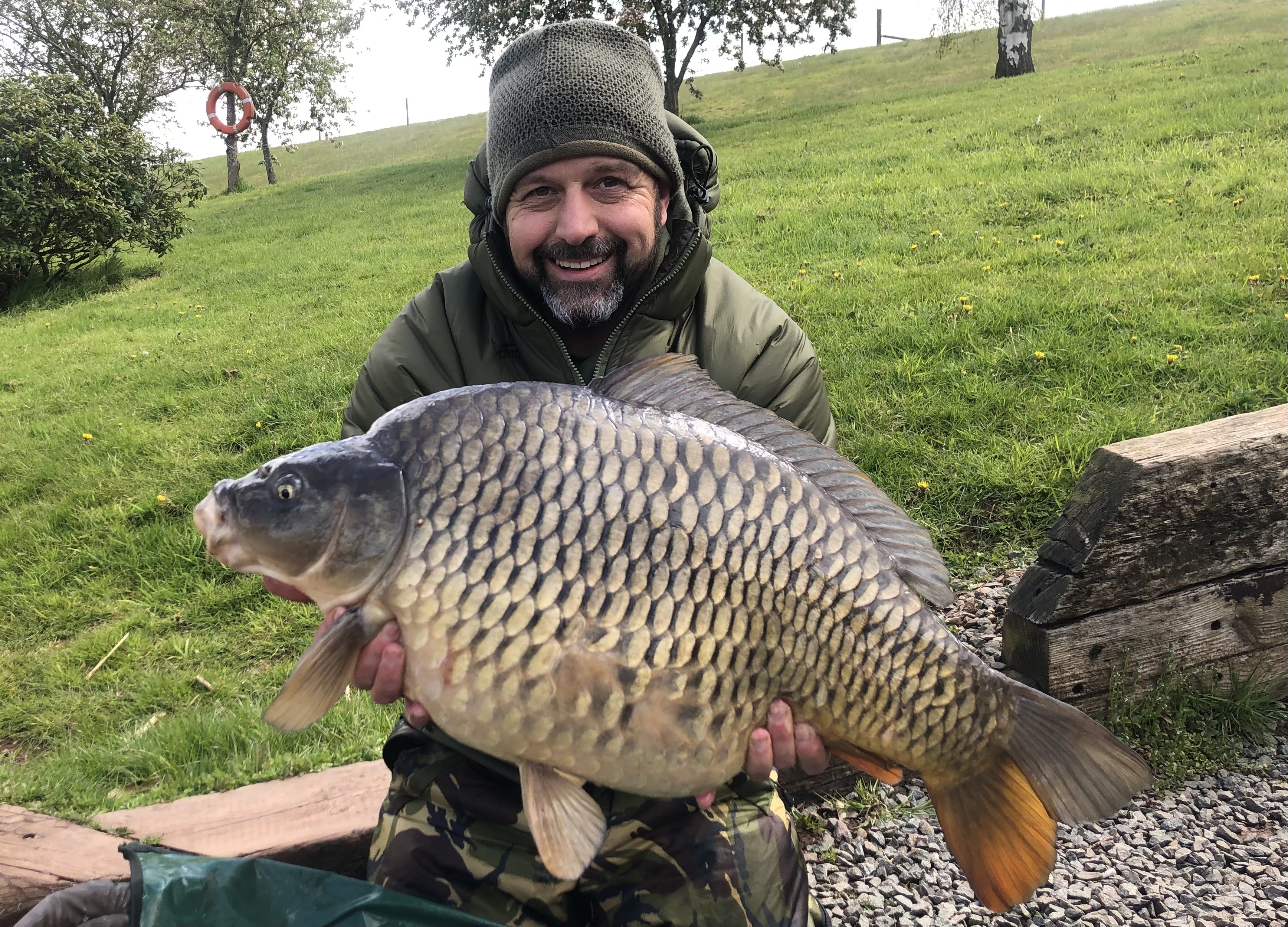 28-00 caught on Old English Toffee