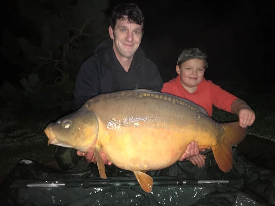 36-10 caught on 10 yr old Joshua Pritchard