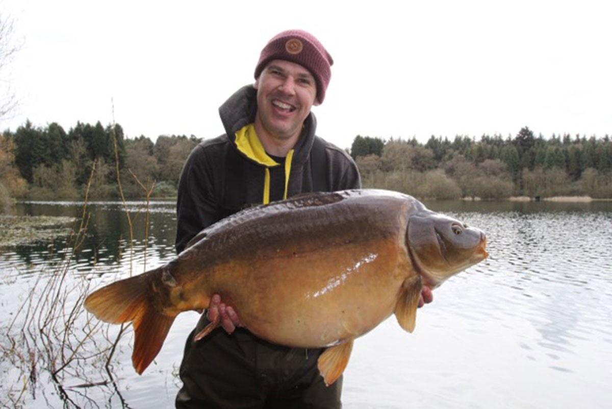 40-14 caught on 24/7 boilies