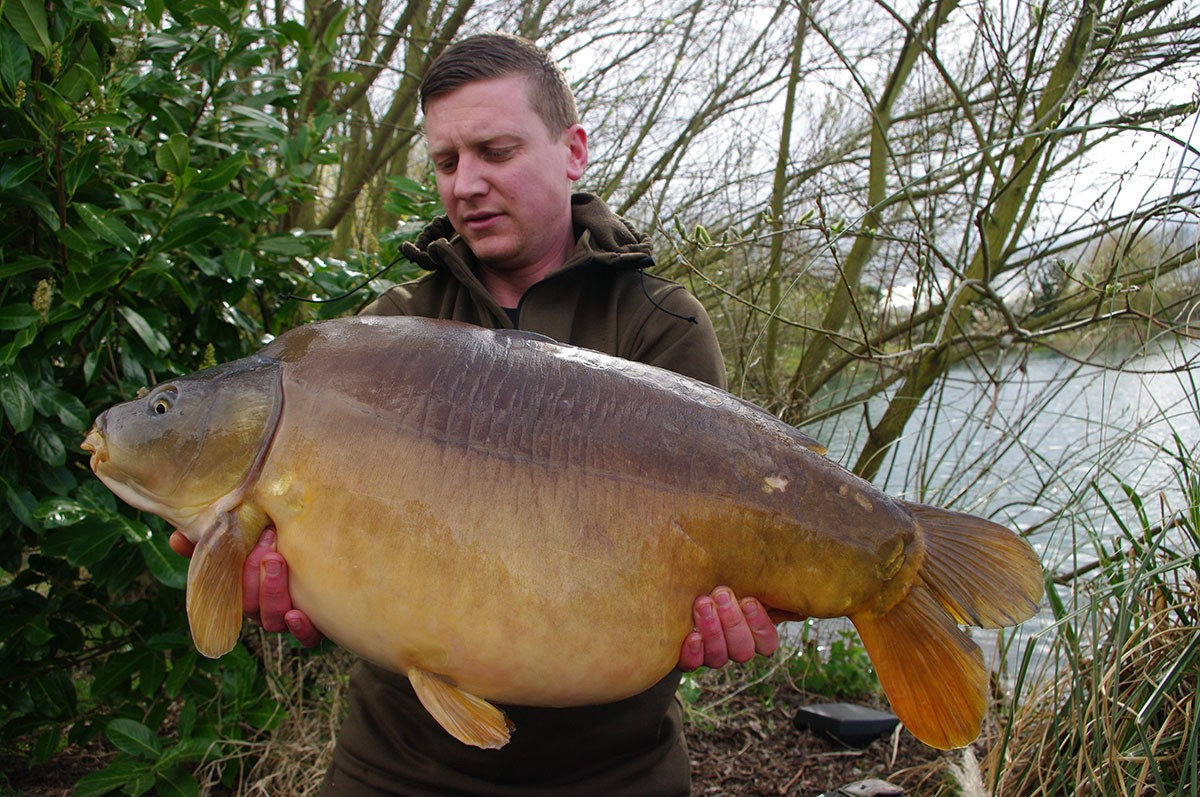 26-08 caught on Nut Mino boilies