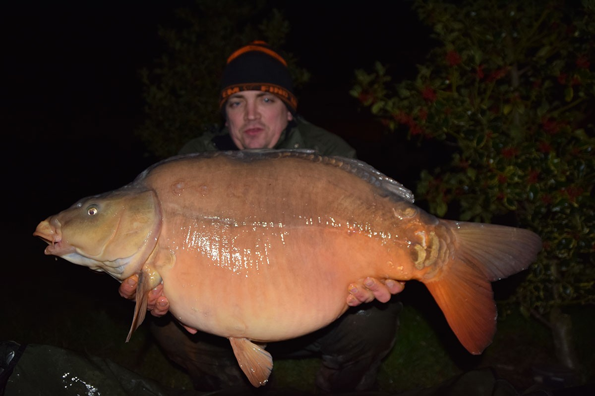 37-00 caught on Boilies
