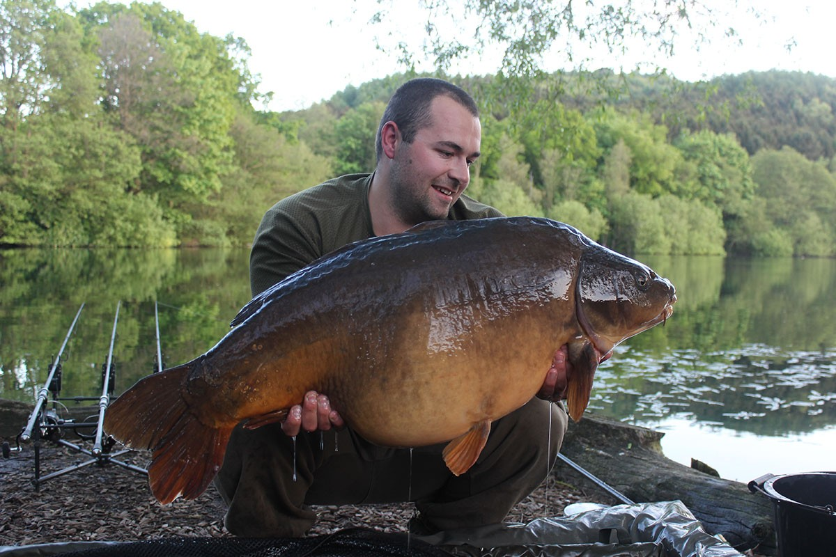 43-00 caught on Boilies