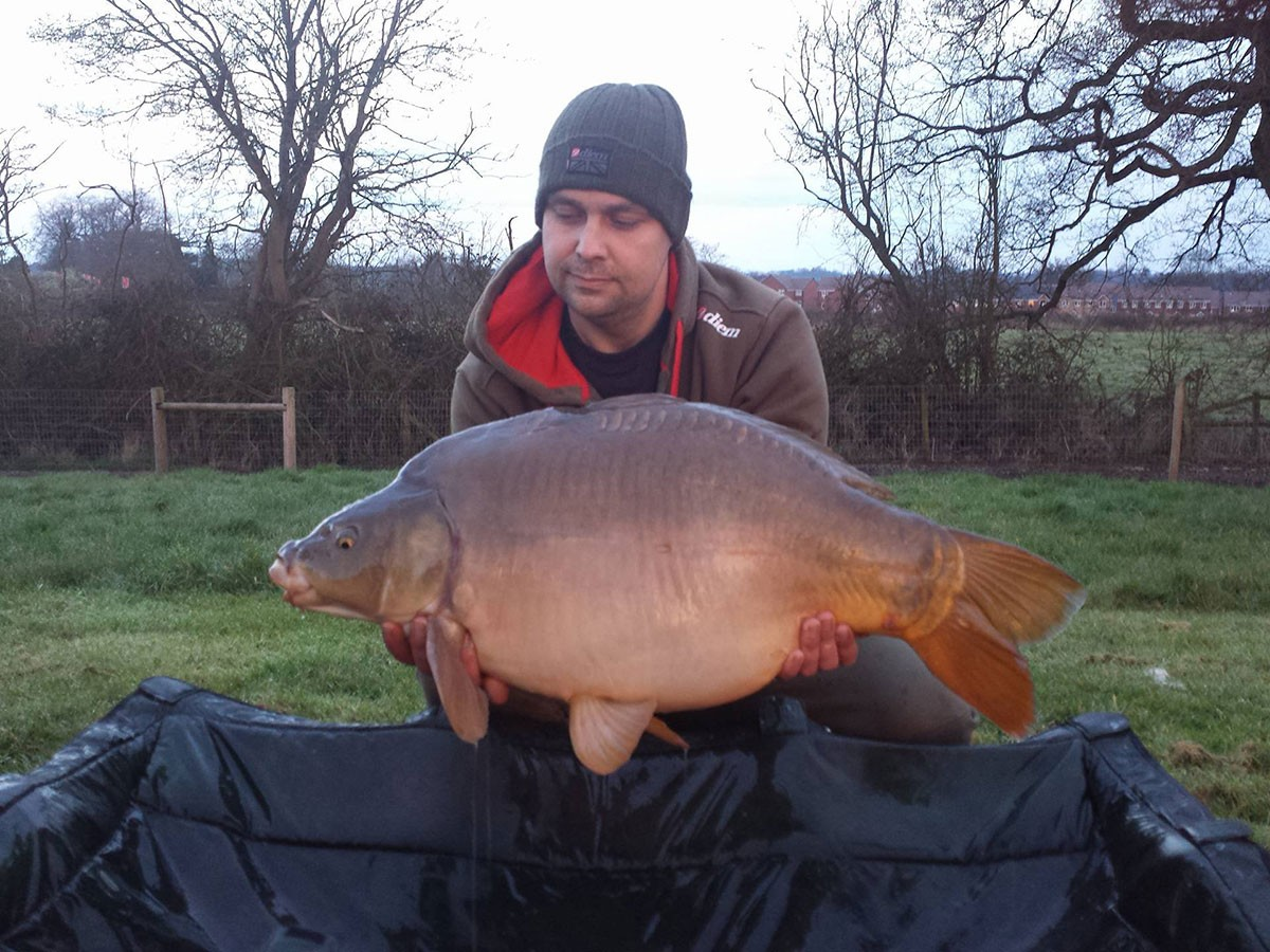 31-13 caught on Nut mino boilies