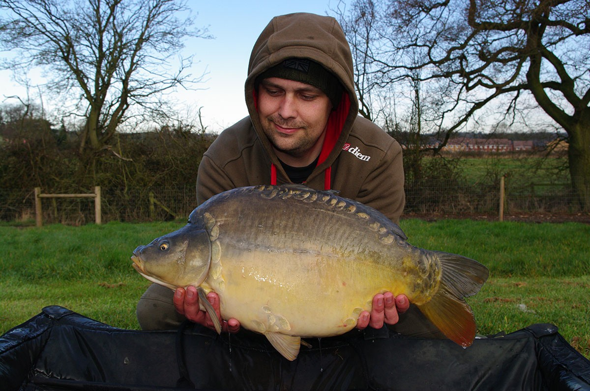 18-00 caught on Nut mino boilies