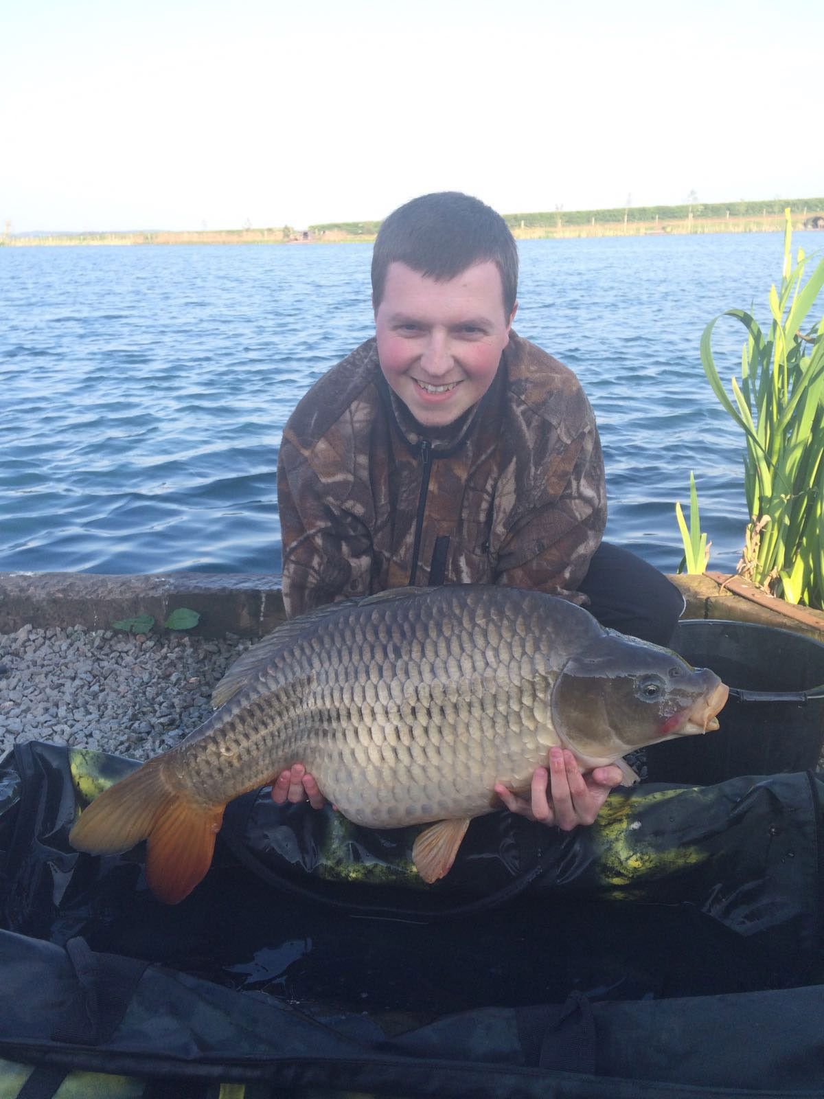 27-00 caught on freshwater Shrimp boilies,