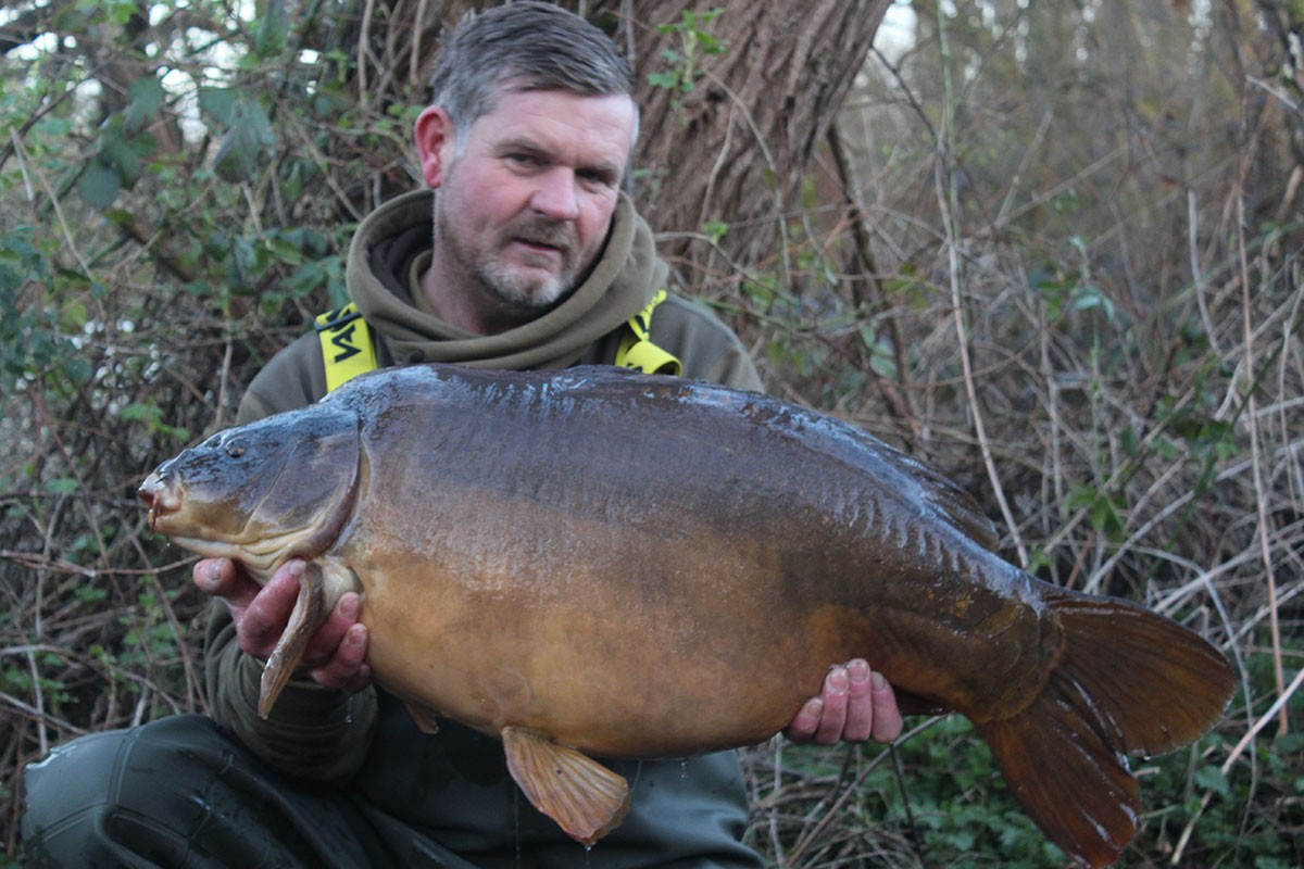 35-14 caught on boilies