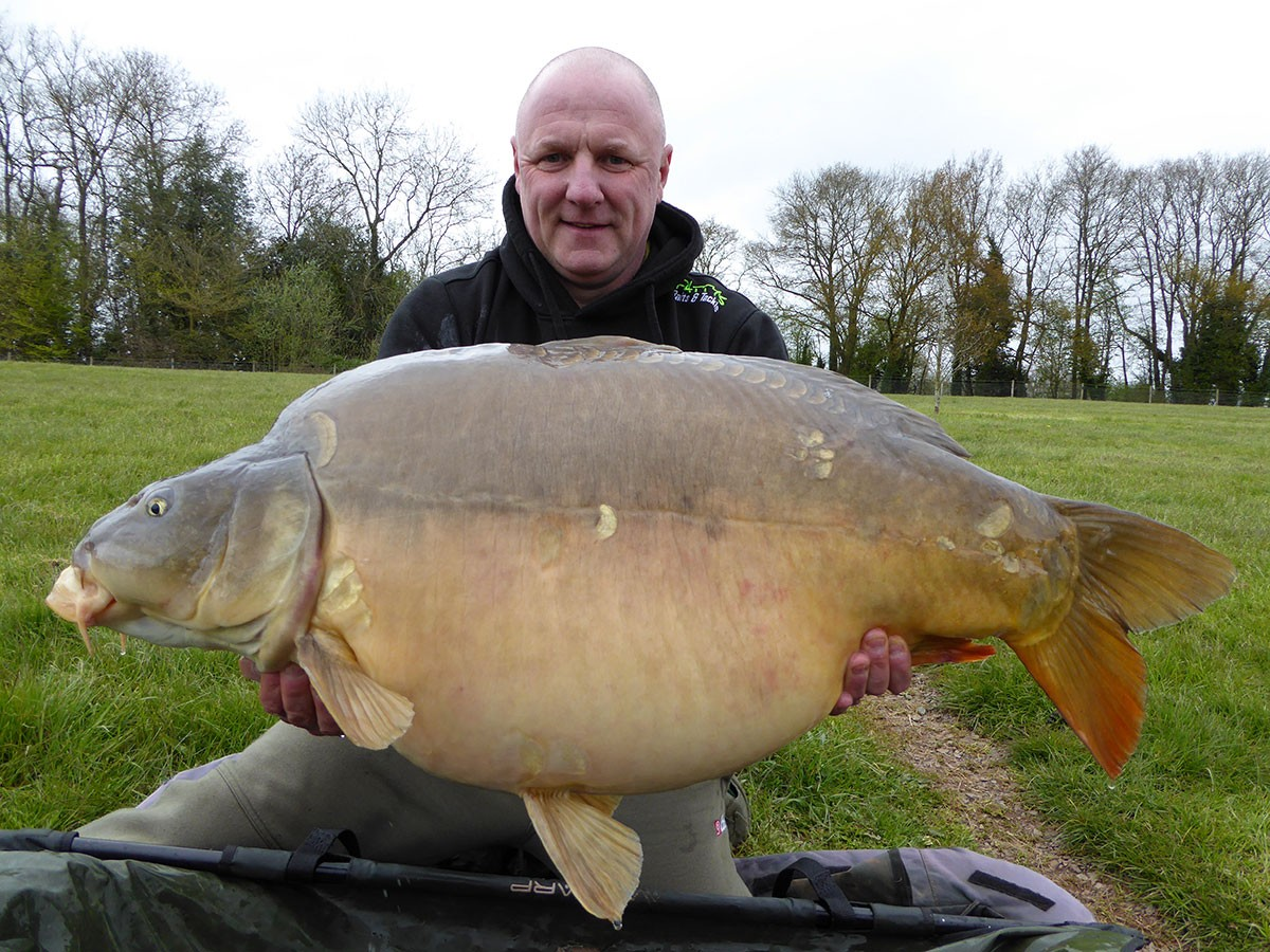 44-08 caught on Boilies