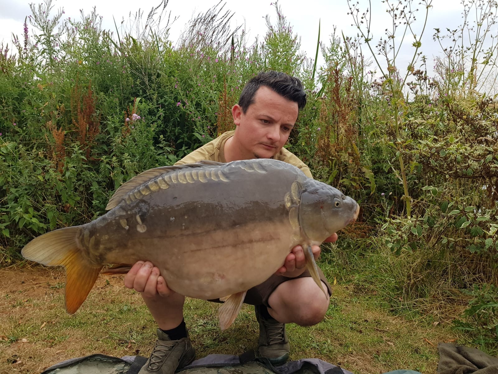 25-08 caught on Boilie
