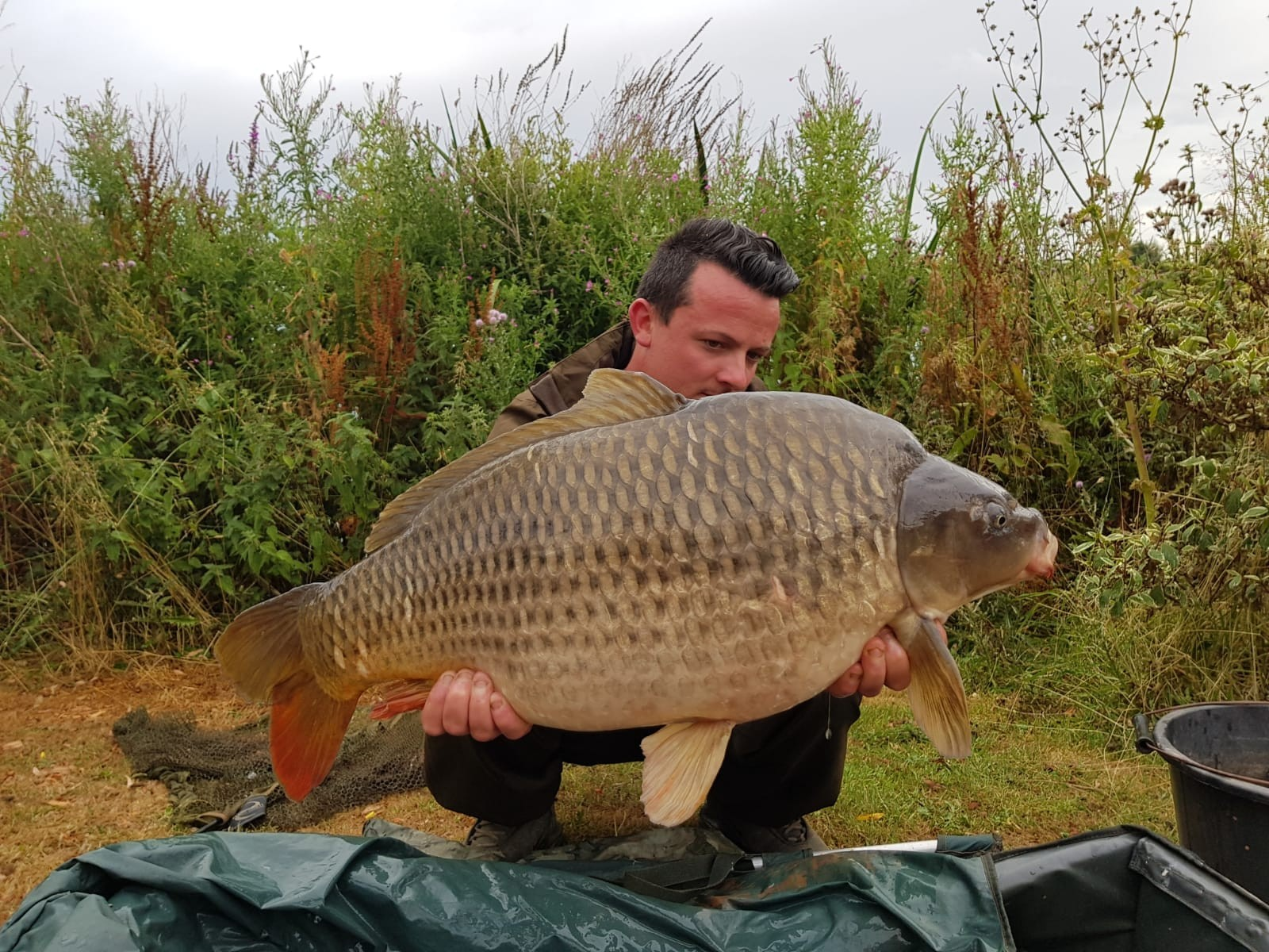 27-04 caught on Boilie