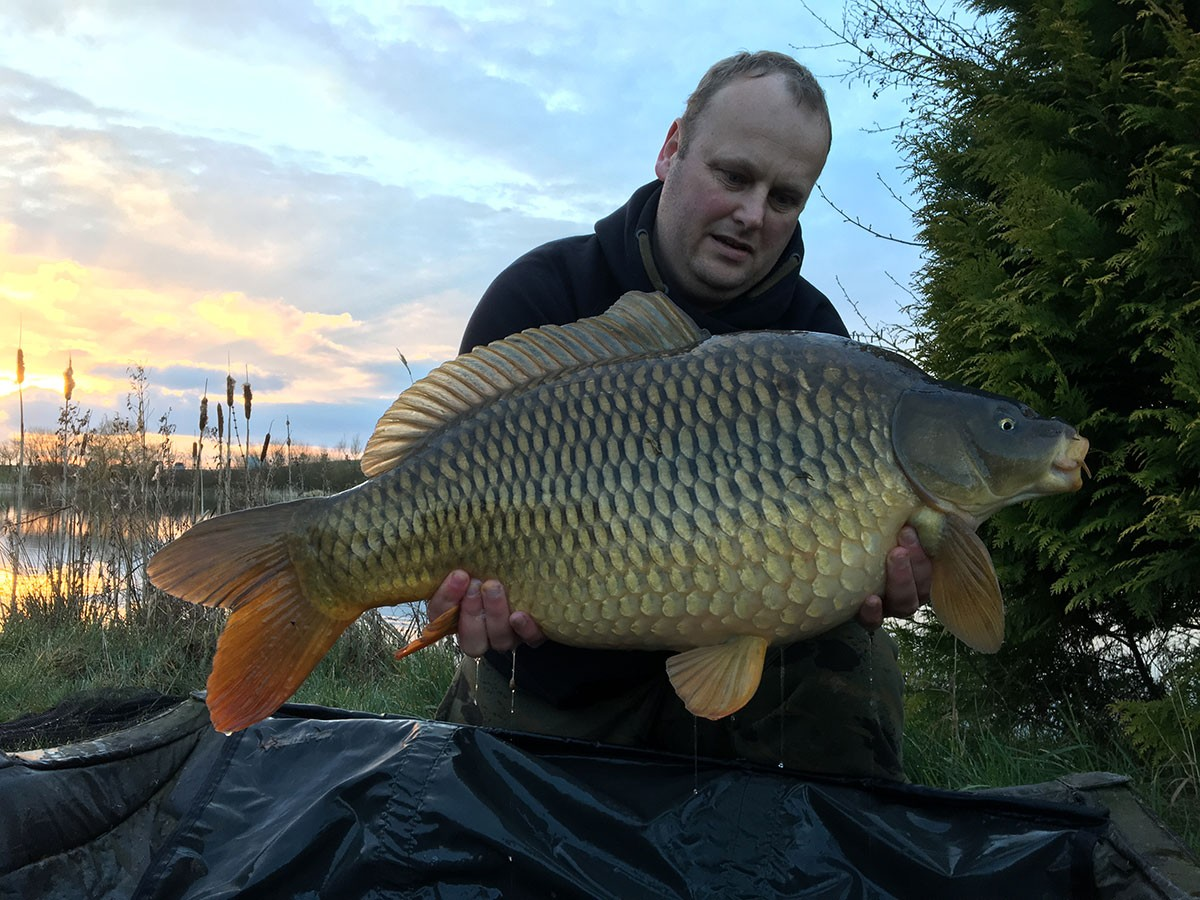 23-13 caught on Nut mino boilies