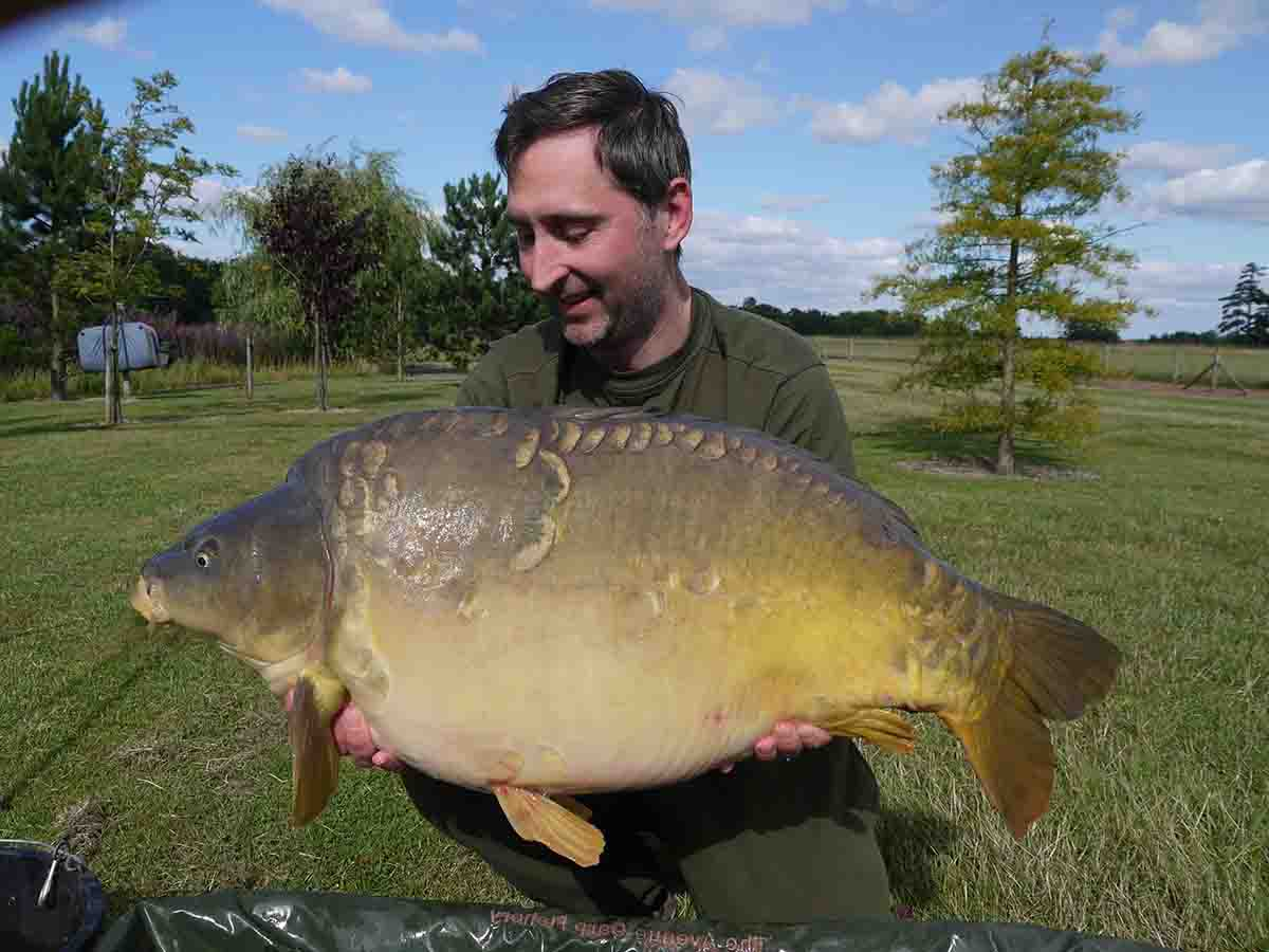 41lb-08oz caught on boilie