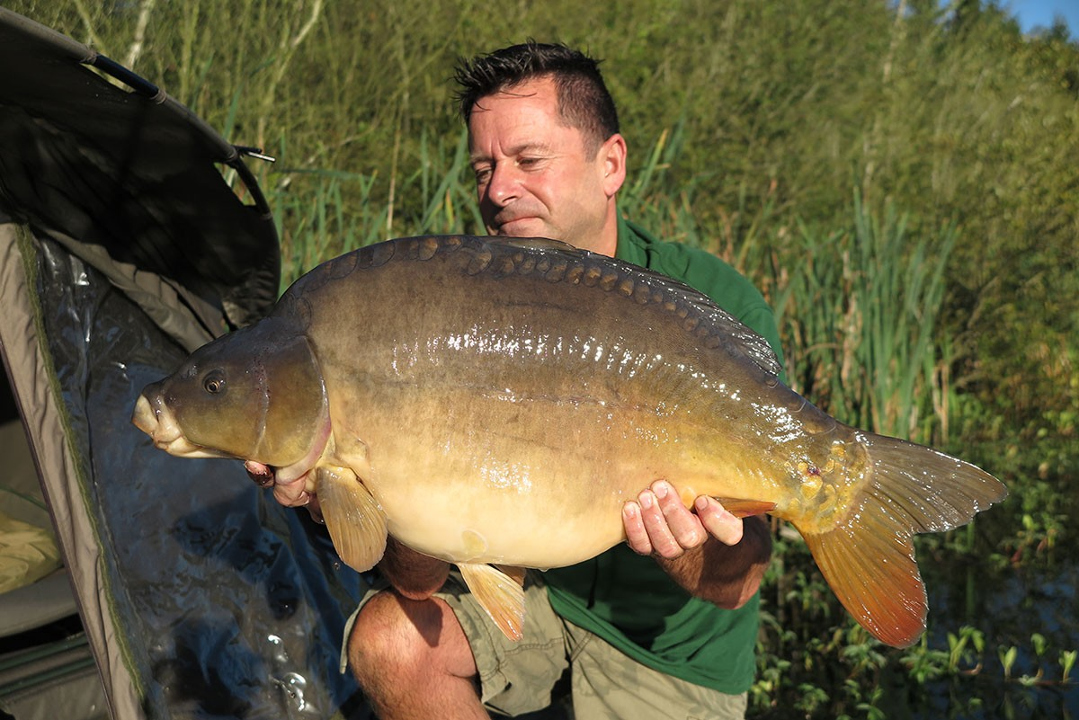 21-06 caught on Boilies