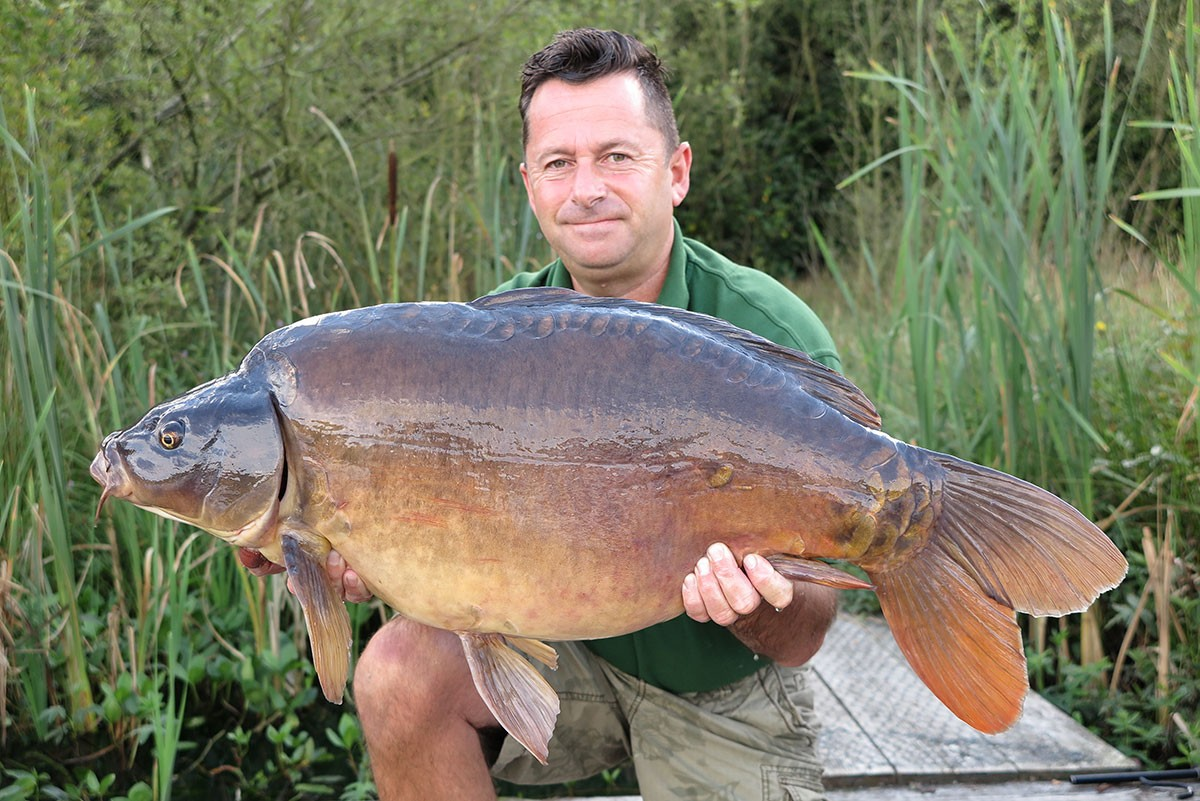 27-08 caught on Boilies