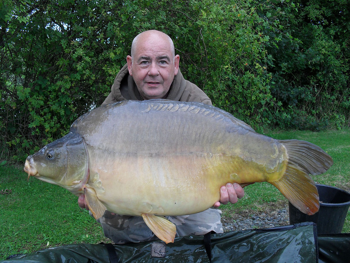 32-00 caught on Boilies