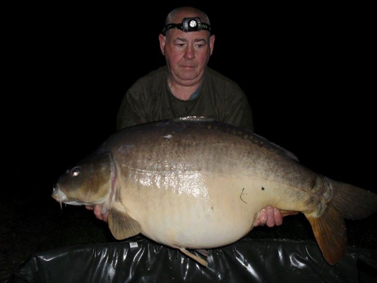 47lb caught on Boilie