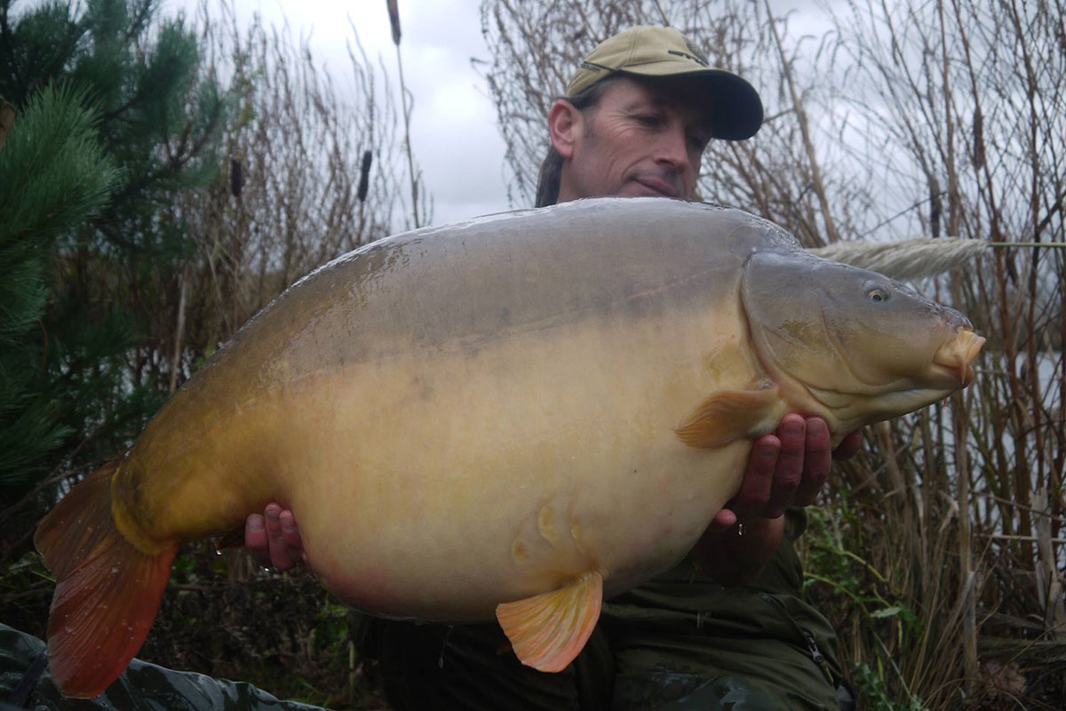 40-08 caught on boilies