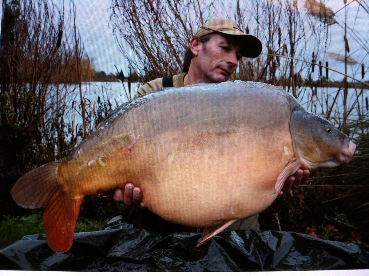 28-08 caught on boilies