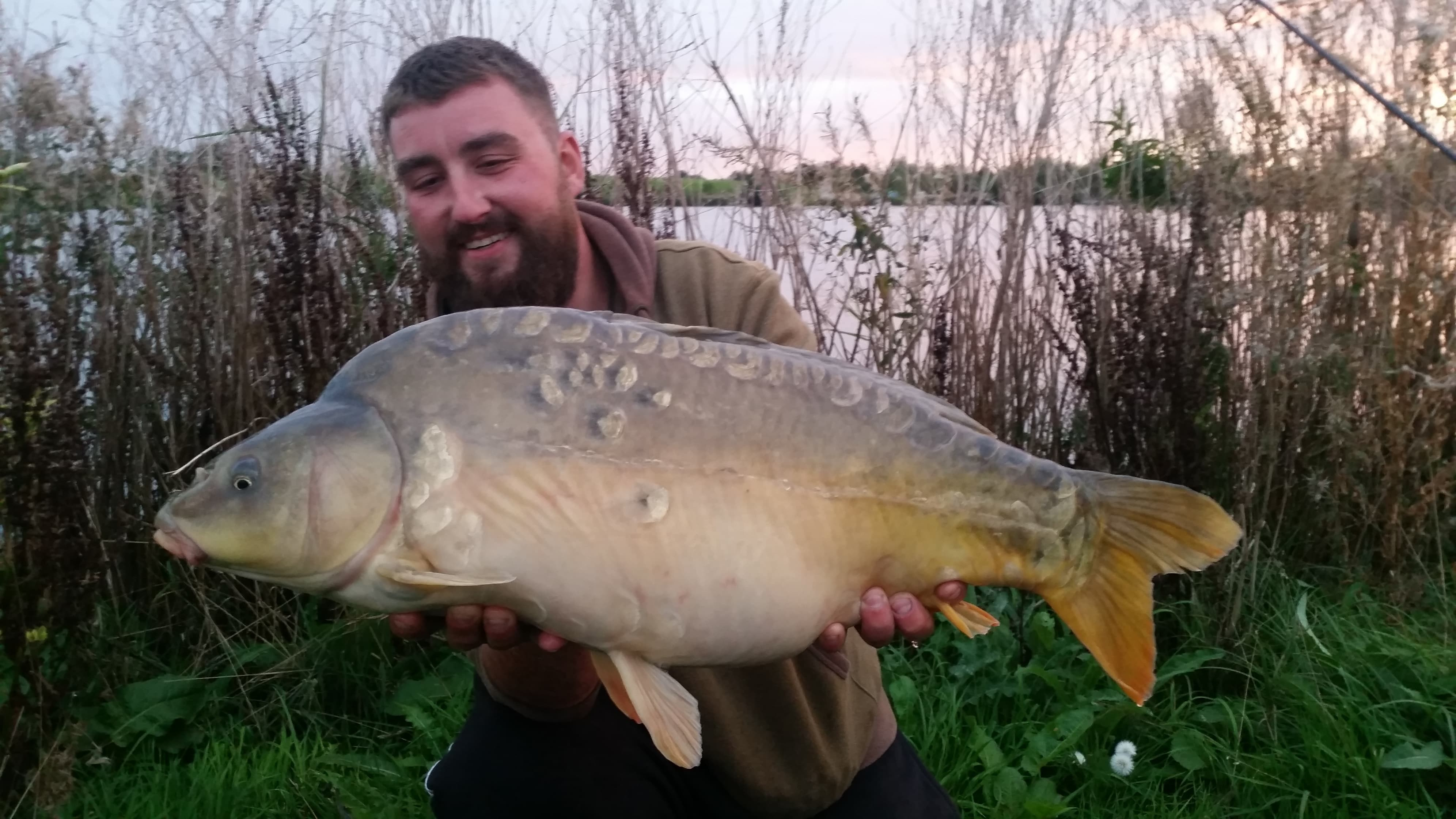 21lb 04oz  caught on The Hive