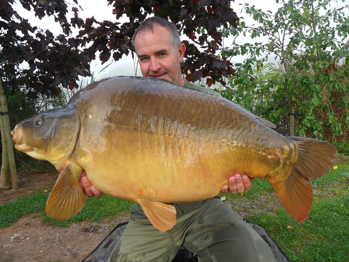 41-00 caught on boilies