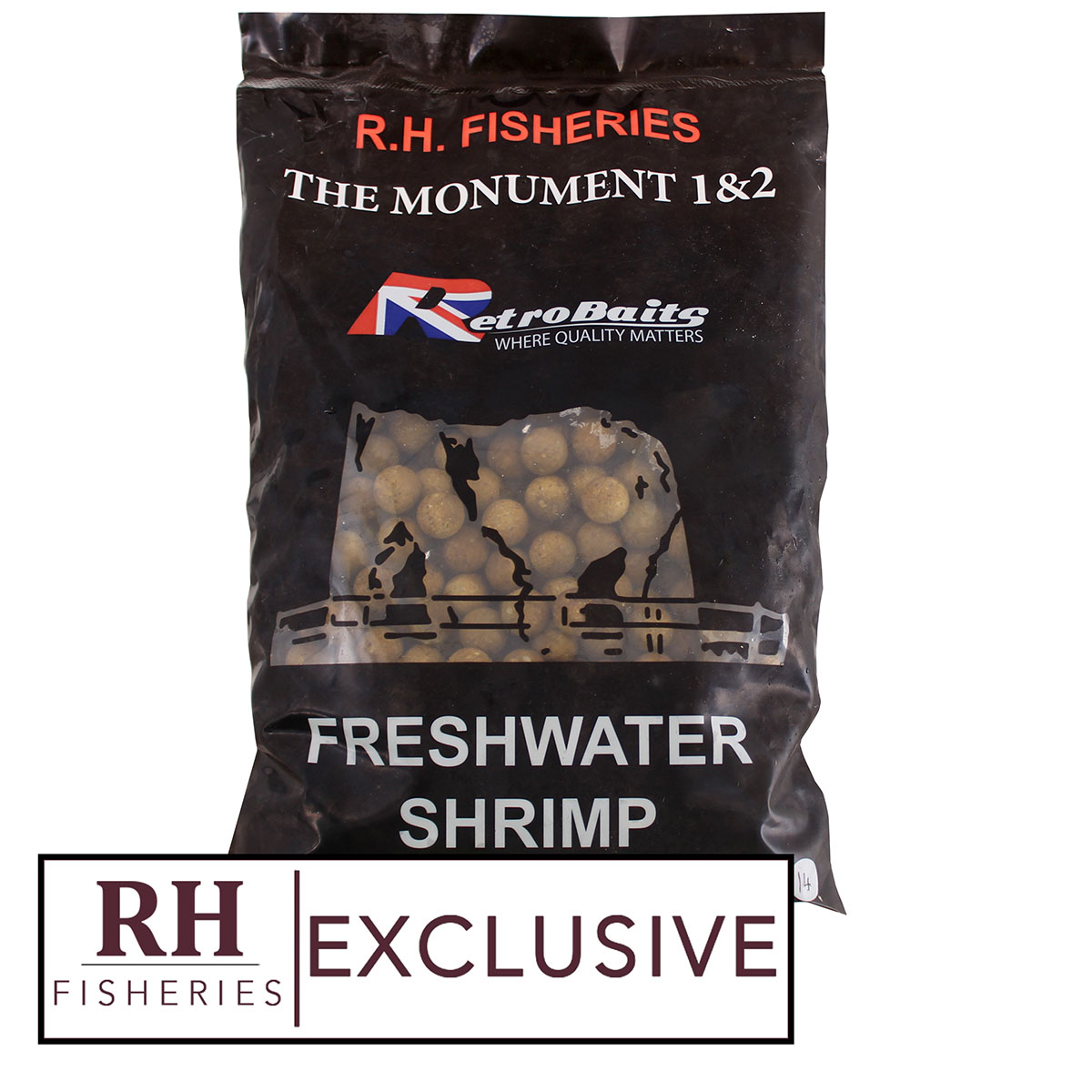 Freshwater Shrimp 14mm Boilies
