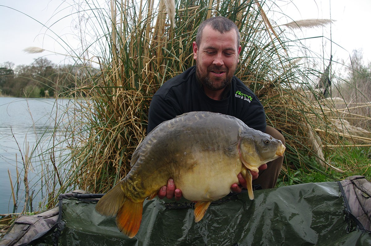 18 caught on Boilies
