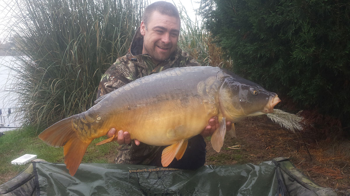 27-08 caught on Worm & Sweetcorn