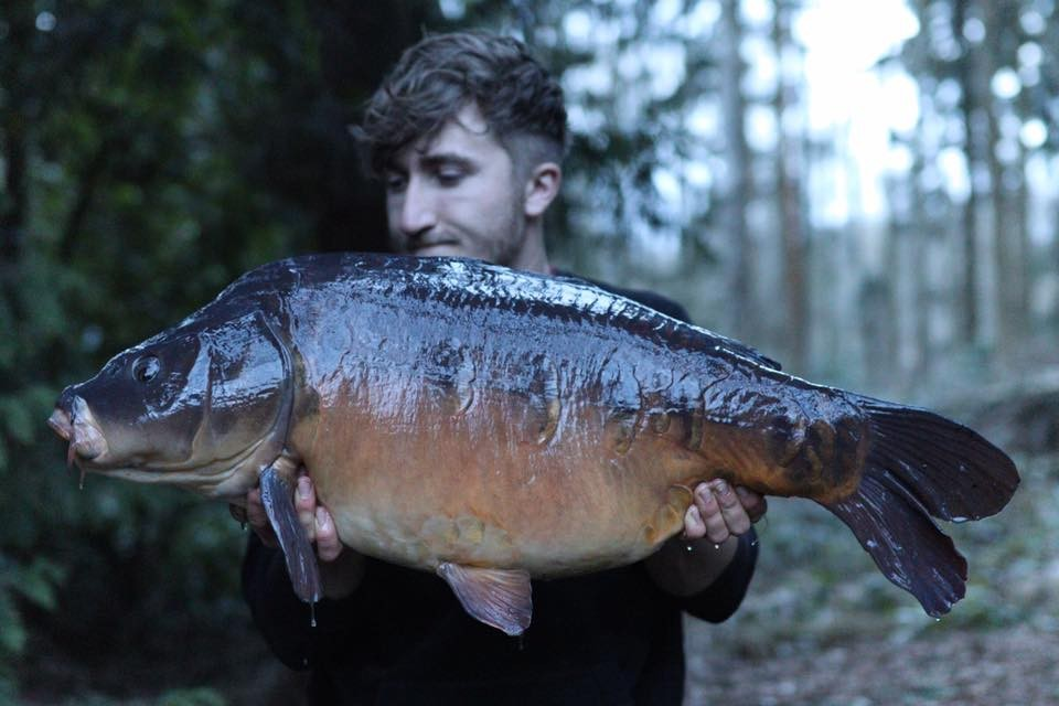 T Forrester  holding a 30-08 from RH Fisheries
