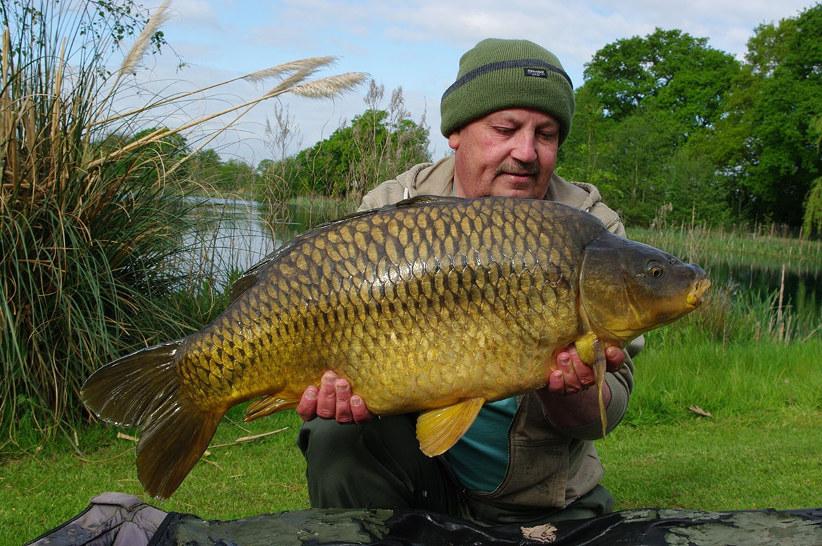 27-00 caught on Boilie