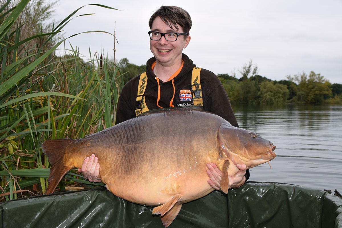 69-02 'British Record' caught on Boilie