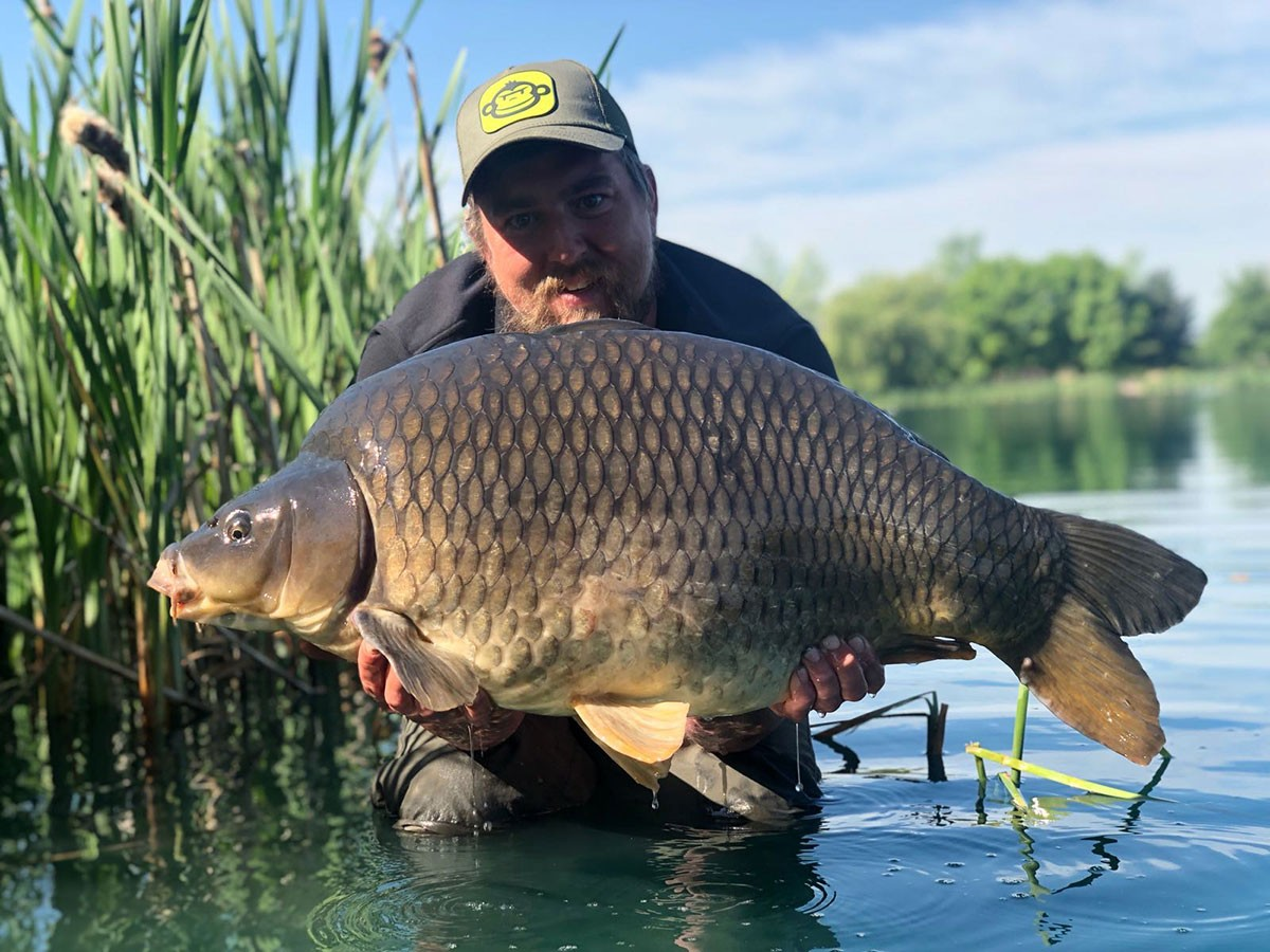 38-00 'Houdini' caught on Boilie